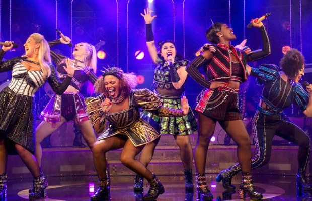 The full cast of SIX the musical at the Arts Theatre
