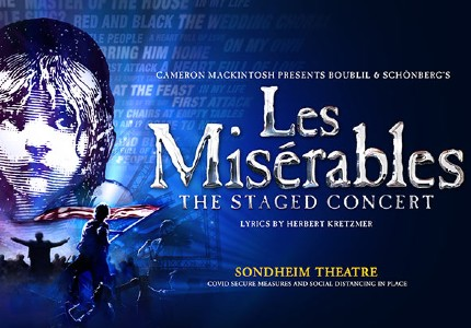 Les Misérables: The Staged Concert tickets