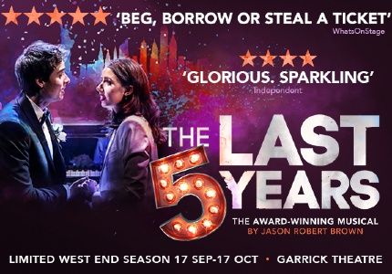 The Last Five Years tickets