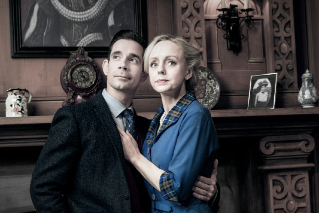 The 2019 cast of The Mousetrap at the St Martin's Theatre
