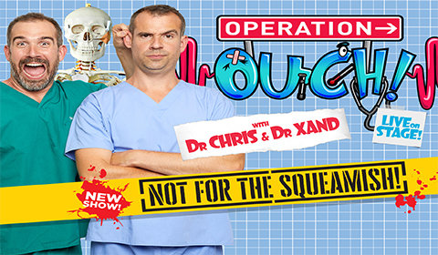 Operation Ouch! Live on Stage tickets
