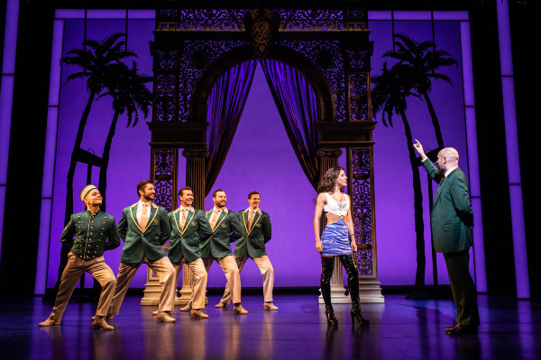 The cast of Pretty Woman: The Musical at the Savoy Theatre