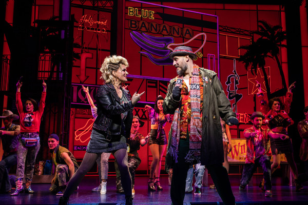 Rachael Wooding and Bob Harms in Pretty Woman: The Musical at the Savoy Theatre